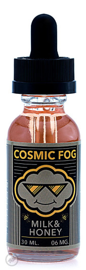cosmic fog milk & honey ejuice