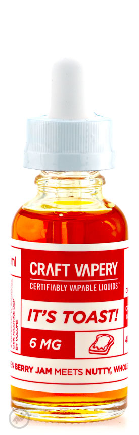 craft vapery its toast eliquid